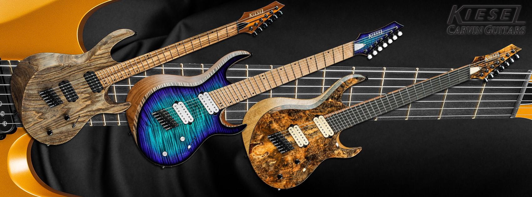 Image courtesy of Kiesel/Carvin Guitars
